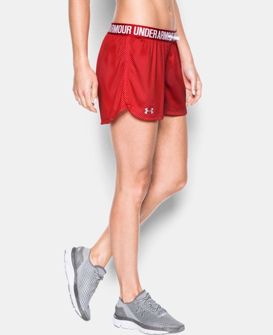Women's UA Play Up Mesh Short LIMITED TIME: FREE SHIPPING 1 Color $22.99 to $26.99