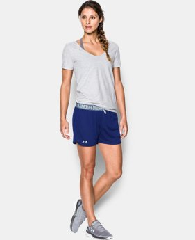 Women's UA Play Up Mesh Short LIMITED TIME: FREE U.S. SHIPPING 2 Colors $17.24 to $22.99