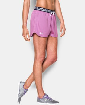 Women's UA Play Up Mesh Short  1 Color $34.99