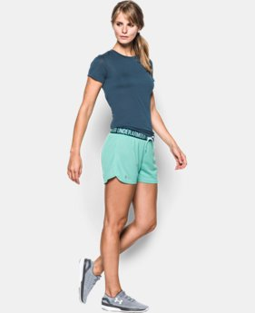 Best Seller Women's UA Play Up Mesh Short  1 Color $29.99