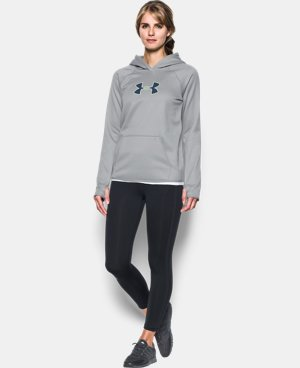 Women's UA Storm UA Logo Hoodie LIMITED TIME: FREE SHIPPING 2 Colors $48.74