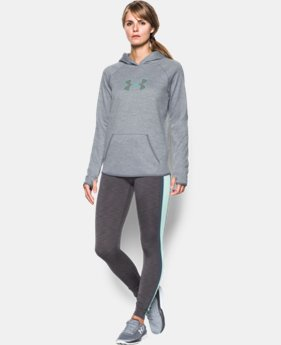 Women's UA Storm UA Logo Twist Hoodie LIMITED TIME: FREE SHIPPING 1 Color $52.49