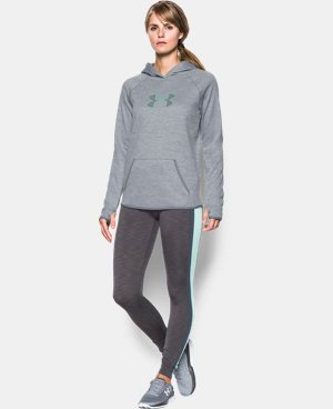 Women's UA Storm UA Logo Twist Hoodie  1 Color $52.49