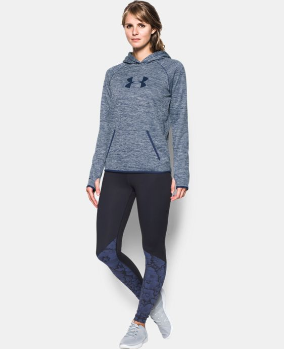 Women's UA Storm UA Logo Twist Hoodie  12 Colors $52.49