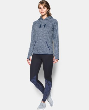 Women's UA Storm UA Logo Twist Hoodie  2 Colors $52.49