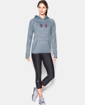 Women's UA Storm UA Logo Twist Hoodie LIMITED TIME: FREE SHIPPING 2 Colors $52.49