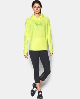 New Arrival Women's UA Storm UA Logo Twist Hoodie  1 Color $59.99