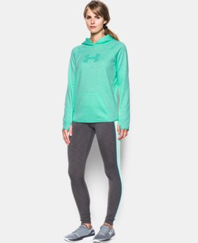 Women's UA Storm UA Logo Twist Hoodie  1 Color $35.99