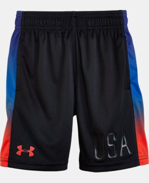 New Arrival Boys' Toddler UA Eliminator Shorts LIMITED TIME: UP TO 30% OFF 1 Color $18.99