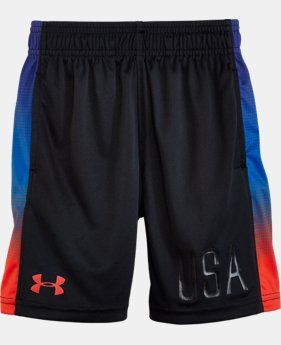 New Arrival Boys' Pre-School UA Eliminator Shorts  2 Colors $24.99