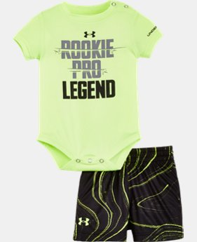 Best Seller Boys' Newborn UA Graphic Bodysuit Shorts Set LIMITED TIME: FREE SHIPPING 2 Colors $34.99