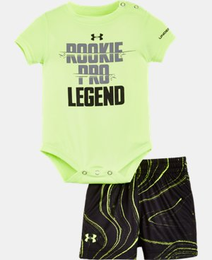 New Arrival Boys' Newborn UA Graphic Bodysuit Shorts Set LIMITED TIME: FREE SHIPPING 2 Colors $26.99
