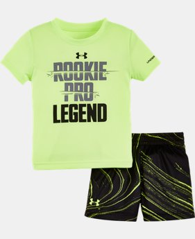Boys' Infant UA Graphic Shorts Set  1 Color $34.99