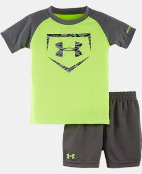 New Arrival Boys' Infant UA Graphic Shorts Set  1 Color $34.99