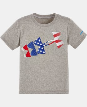 New Arrival Boys' Pre-School UA Graphic Short Sleeve T-Shirt  1 Color $17.99