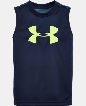 Boys' Toddler UA Mega Micro Camo Tank LIMITED TIME: FREE SHIPPING  $21.99