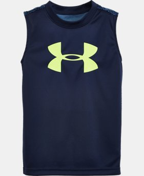 Boys' Pre-School UA Mega Micro Camo Tank LIMITED TIME: FREE U.S. SHIPPING 1 Color $16.99