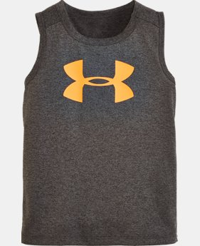 Boys' Pre-School UA Big Logo Tank LIMITED TIME: FREE SHIPPING  $17.99