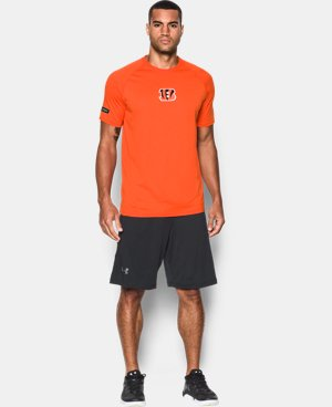 Best Seller Men's NFL Combine Authentic Combine Authentic UA Tech™ Logo T-Shirt   1 Color $34.99