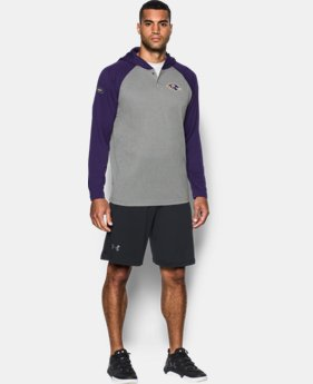 New Arrival Men's NFL Combine Authentic UA Tech™ Popover Hoodie LIMITED TIME: FREE SHIPPING 1 Color $54.99