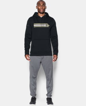 Men's NFL Combine Authentic UA Storm Armour® Fleece Hoodie   $74.99