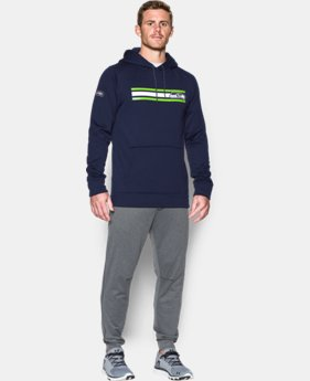 New Arrival Men's NFL Combine Authentic UA Storm Armour® Fleece Hoodie   $74.99