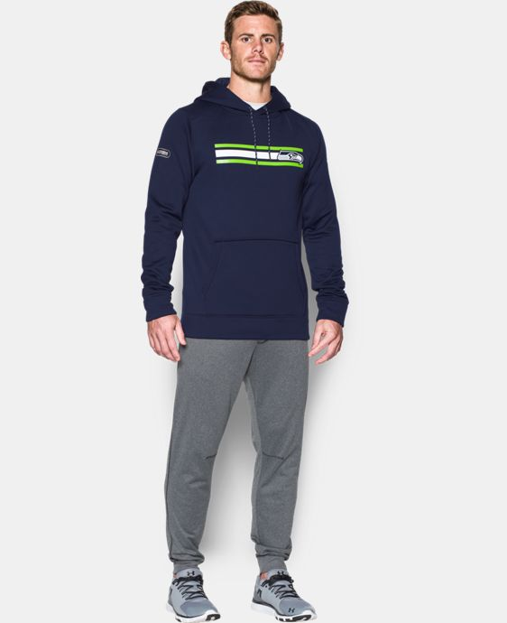Men's NFL Combine Authentic UA Storm Armour® Fleece Hoodie  8 Colors $74.99