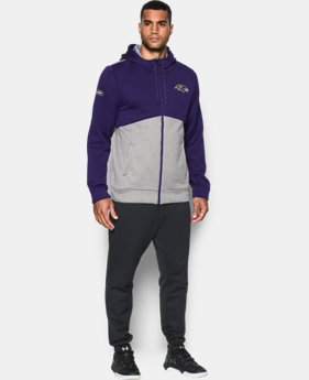 Men's NFL Combine Authentic UA Storm Armour® Fleece Full Zip Hoodie  1 Color $47.99 to $63.99