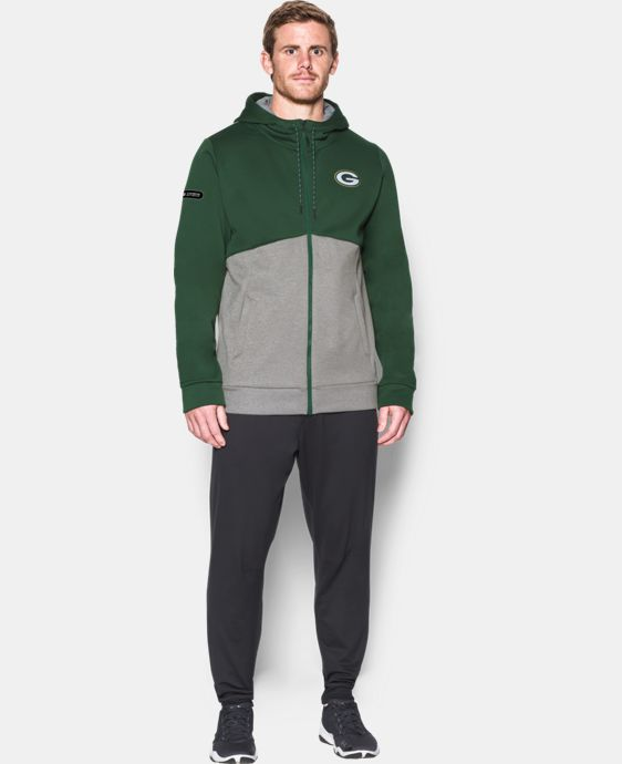 Men's NFL Combine Authentic UA Storm Armour® Fleece Full Zip Hoodie  8 Colors $63.99