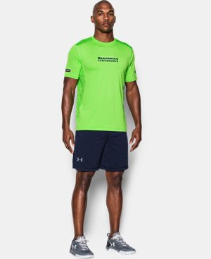Men's NFL Combine Authentic UA Raid Printed T-Shirt  5 Colors $44.99