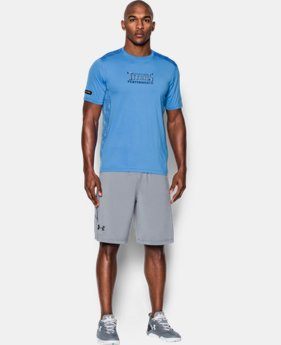 Men's NFL Combine Authentic UA Raid Printed T-Shirt  3 Colors $44.99
