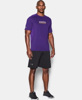 Men's NFL Combine Authentic UA Raid Printed T-Shirt  2 Colors $44.99