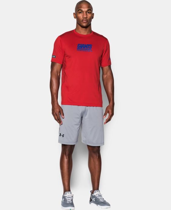 Men's NFL Combine Authentic UA Raid Printed T-Shirt  8 Colors $44.99