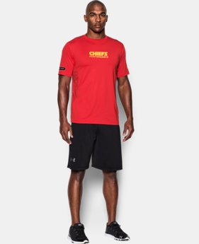 Men's NFL Combine Authentic UA Raid Printed T-Shirt  5 Colors $33.99