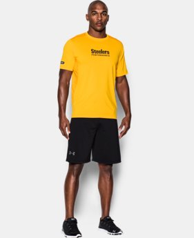 Men's NFL Combine Authentic UA Raid Printed T-Shirt LIMITED TIME: FREE U.S. SHIPPING 4 Colors $44.99