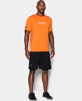 Men's NFL Combine Authentic UA Raid Printed T-Shirt  4 Colors $44.99