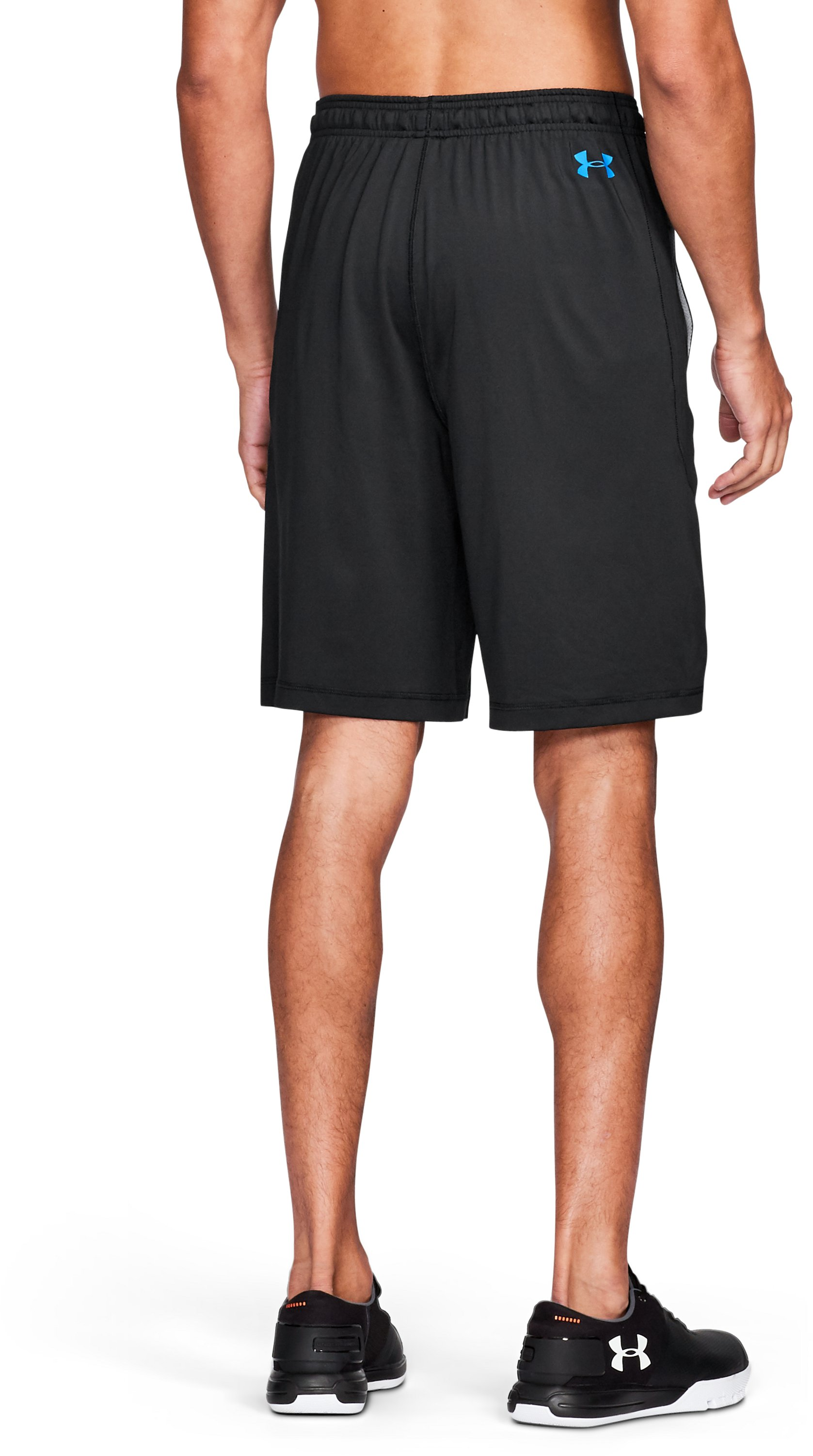 Men's NFL Combine Authentic UA Raid Shorts, Carolina Panthers,
