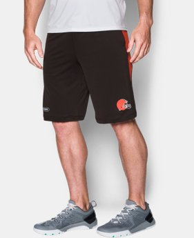 New Arrival Men's NFL Combine Authentic UA Raid Printed Shorts LIMITED TIME: FREE SHIPPING  $44.99