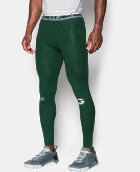 New Arrival Men's NFL Combine Authentic UA HeatGear® Armour Compression Leggings   $59.99