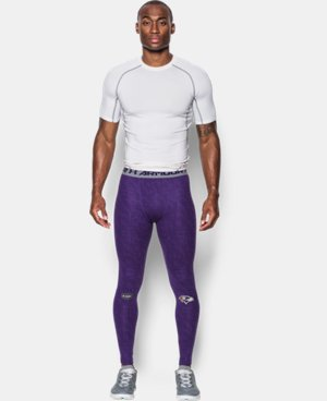 Men's NFL Combine Authentic UA HeatGear® Armour Compression Leggings   $44.99
