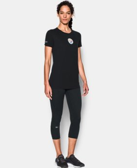 Women's NFL Combine Authentic UA Graphic T-Shirt   1  Color Available $34.99