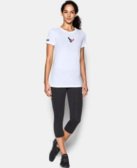 Women's NFL Combine Authentic UA Graphic T-Shirt   5 Colors $34.99