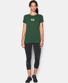 New to Outlet Women's NFL Combine Authentic UA Graphic T-Shirt   2 Colors $24.99