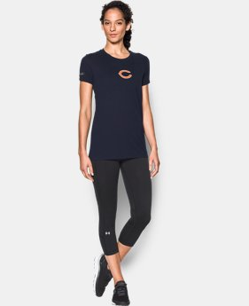 New to Outlet Women's NFL Combine Authentic UA Graphic T-Shirt   7 Colors $24.99