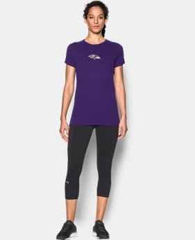 New to Outlet Women's NFL Combine Authentic UA Graphic T-Shirt   1 Color $24.99