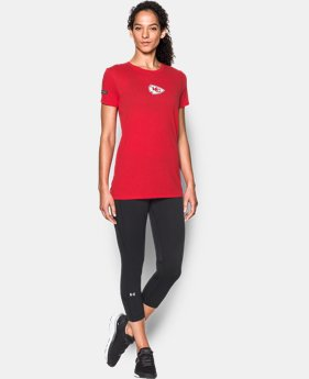 Women's NFL Combine Authentic UA Graphic T-Shirt   3 Colors $34.99