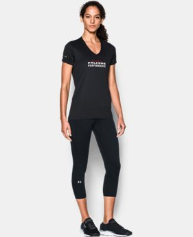 New to Outlet Women's NFL Combine Authentic UA Tech™ V-Neck  4 Colors $20.99 to $26.99