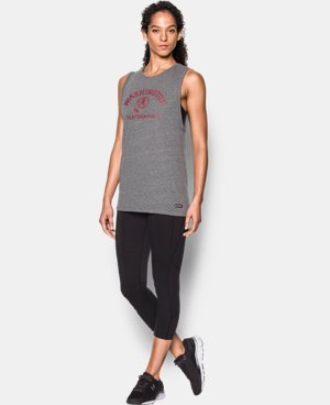Women's NFL Combine Authentic UA Muscle T-Shirt   $34.99