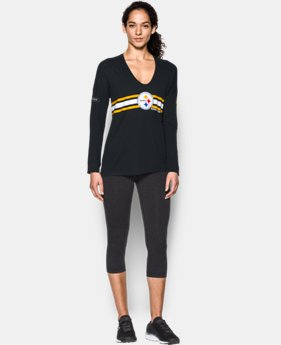 New Arrival Women's NFL Combine Authentic UA Collegiate Long Sleeve T-Shirt  LIMITED TIME: FREE SHIPPING 1 Color $49.99