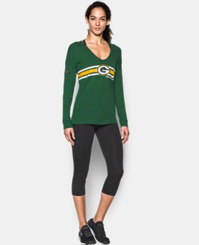 Women's NFL Combine Authentic UA Collegiate Long Sleeve T-Shirt   1 Color $37.99